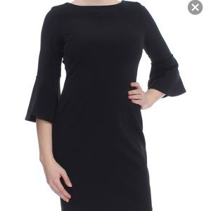 NWT Bell sleeve Calvin Klein sheath dress